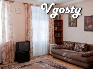 nice one-bedroom apartment in the center - Apartments for daily rent from owners - Vgosty