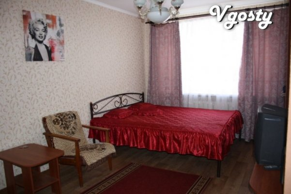 One bedroom apartment center of Mariupol - Apartments for daily rent from owners - Vgosty