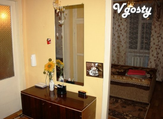 One bedroom in the center of Mariupol - Apartments for daily rent from owners - Vgosty