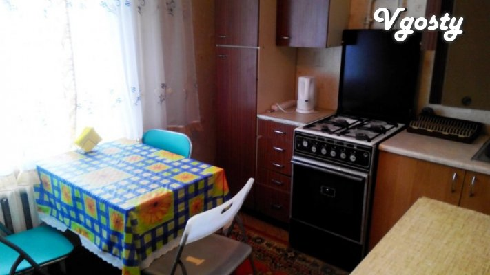 Cozy studio in Zhovtnevyy district of Mariupol - Apartments for daily rent from owners - Vgosty