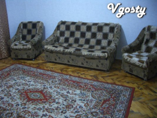 - Cable TV, Wi-Fi, parking, furniture, shower, bath, - Apartments for daily rent from owners - Vgosty