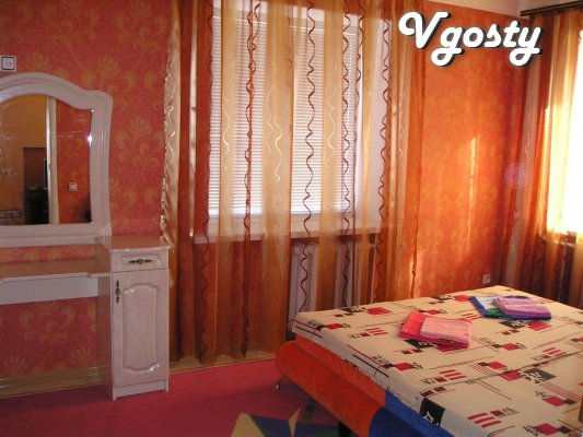 Daily rent two-bedroom apartment - studio: Renovation, - Apartments for daily rent from owners - Vgosty