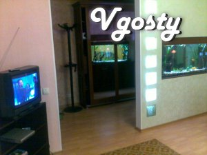 The apartment is renovated Euro : PVC windows and balcony. In this - Apartments for daily rent from owners - Vgosty