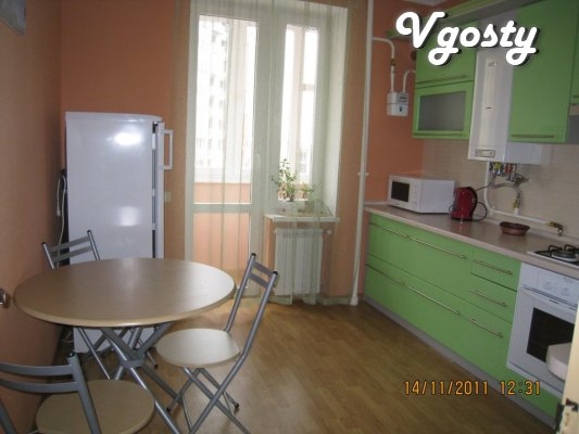 """Apartment in a new home by """"Vladograd"""" rn Mos.koltsa, - Apartments for daily rent from owners - Vgosty"""