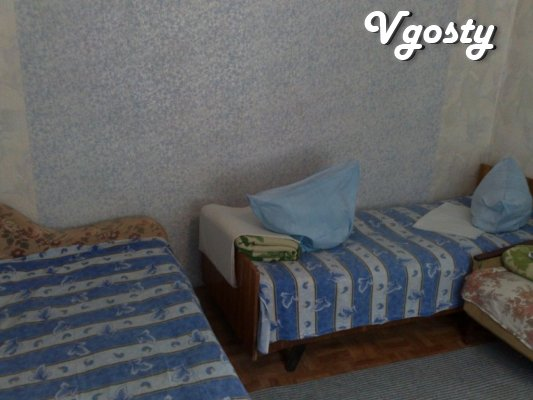 The private sector from the sea with his court , in Sudak , without - Apartments for daily rent from owners - Vgosty