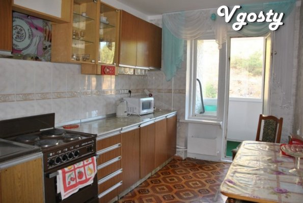 Rent for the rest comfortable apartment 200m from the sea Crimea - Apartments for daily rent from owners - Vgosty