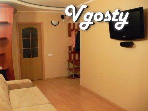 Daily new two bedroom apartment with a new renovation . - Apartments for daily rent from owners - Vgosty