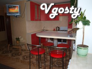 Rent two-bedroom apartment in the center, Valley of Heroes. - Apartments for daily rent from owners - Vgosty