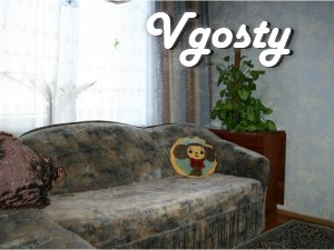 # Area - 70 m2. # 4 floor. # 2 sofas + armchair. # - Apartments for daily rent from owners - Vgosty