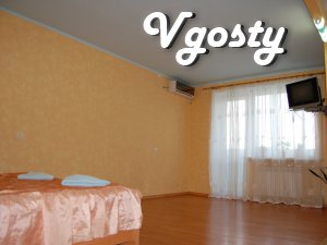 A small studio apartment on the 9th floor street. Kotsubynskogo (Distr - Apartments for daily rent from owners - Vgosty