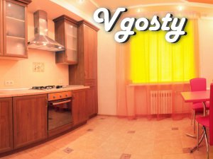 Very spacious apartments of 2 rooms in the new house - Apartments for daily rent from owners - Vgosty