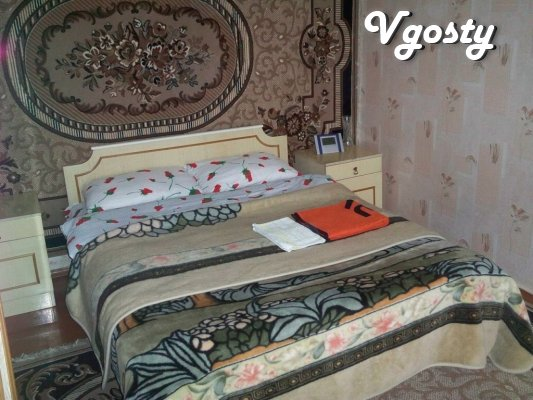 Spacious two -bedroom apartment , total area of ??54 square meters, - Apartments for daily rent from owners - Vgosty