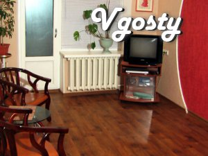 Air conditioning, new windows, glassed-in balcony, - Apartments for daily rent from owners - Vgosty