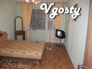 The house is located 1 minute from the bus stop . Dzerzhinsky Lenin Av - Apartments for daily rent from owners - Vgosty