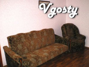 Evrokvartira with self-heating in the center of Lugansk. On - Apartments for daily rent from owners - Vgosty