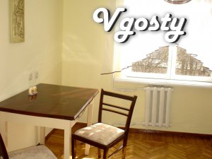 Uyutnaya1-room. Apartment 35kv.m, 59 fl. home area Sq. - Apartments for daily rent from owners - Vgosty