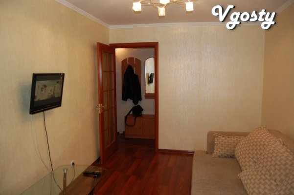 2 separate rooms, double bed and sofa - Apartments for daily rent from owners - Vgosty
