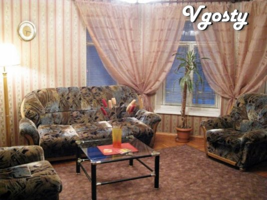 Clean and spacious apartment in the center, there are 3 bedrooms - Apartments for daily rent from owners - Vgosty