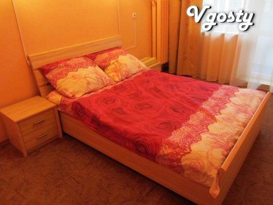 Daily, weekly rent their cozy 2k.kvartiru in the Center - Apartments for daily rent from owners - Vgosty