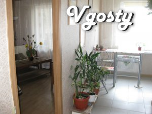 3 minutes from the Metro Obolon. Clean, comfortable, with a large tria - Apartments for daily rent from owners - Vgosty