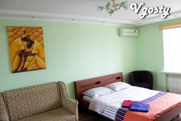 One bedroom apartment, center, Olympic, Saksaganskogo, - Apartments for daily rent from owners - Vgosty