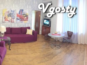 2 komn.s Jacuzzi .Maydan Center Square - Apartments for daily rent from owners - Vgosty
