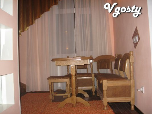 Cozy apartment in the city center on two levels overlooking the park F - Apartments for daily rent from owners - Vgosty