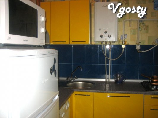 Well-groomed, clean, comfortable and warm apartment in the center - Apartments for daily rent from owners - Vgosty