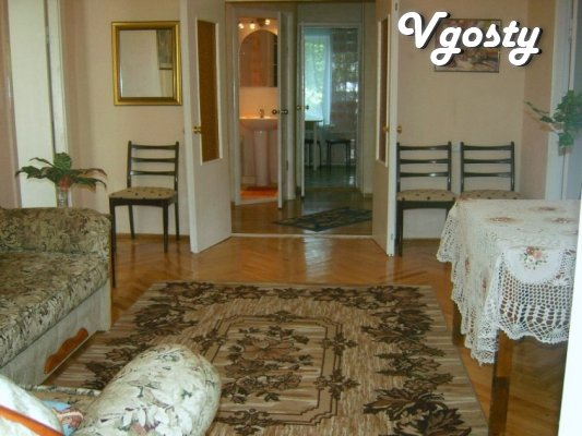 4komnatnaya apartment with 3 separate bedrooms in Kieve.Tsentr.Pechers - Apartments for daily rent from owners - Vgosty