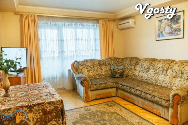 Spacious apartments in the center of Kiev, on Pechersk. - Apartments for daily rent from owners - Vgosty