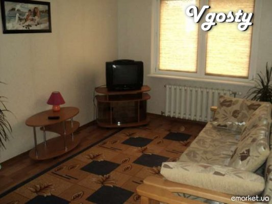 2.4 beds, upholstered furniture, clean bed, hot - Apartments for daily rent from owners - Vgosty