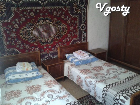 Clean, comfortable apartment in the city center. - Apartments for daily rent from owners - Vgosty