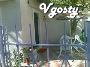 Rent a house by the sea promenade Gorky-sand beaches. - Apartments for daily rent from owners - Vgosty