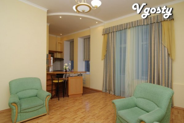 Exclusive 2-in apartment in the center of Kiev - Apartments for daily rent from owners - Vgosty