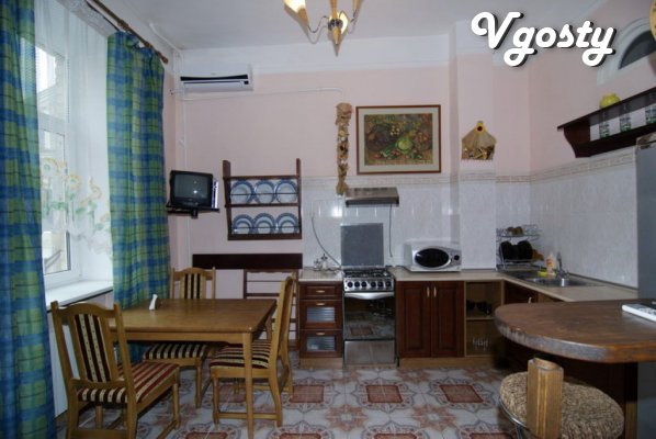 A cozy two-room apartment-studio in the heart of the city. - Apartments for daily rent from owners - Vgosty