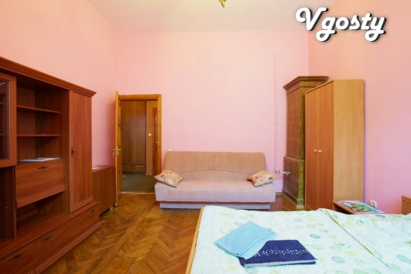 Cozy 1-bedroom apartment is located in the central part of the city wi - Apartments for daily rent from owners - Vgosty