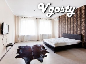 Daily / hourly! HOST! 2-for square near Freedom Square! The center! - Apartments for daily rent from owners - Vgosty
