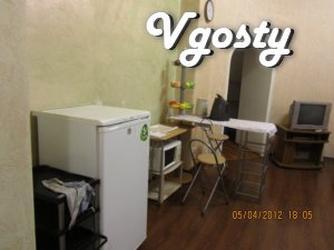 Cozy apartment. Located on the 1st floor. In just 5 minutes from - Apartments for daily rent from owners - Vgosty