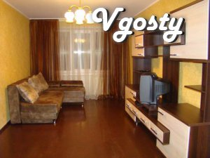 Four-room apartment not far from the town center, - Apartments for daily rent from owners - Vgosty