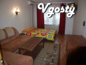 Daily, in the new house, a modern equipped apartment on Poznyaki - Apartments for daily rent from owners - Vgosty
