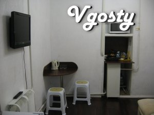 "Cozy 1-room. apartment on the waterfront (hotel district ""Oreanda - Apartments for daily rent from owners - Vgosty"
