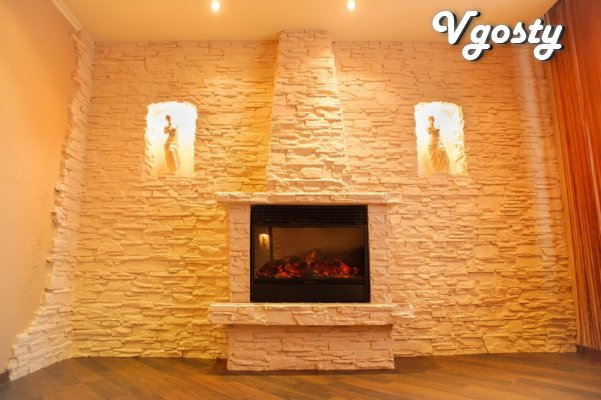3-kv in the center of the city with a fireplace - Apartments for daily rent from owners - Vgosty