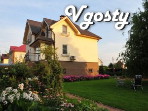 Ckazochny house in a magical garden - Apartments for daily rent from owners - Vgosty