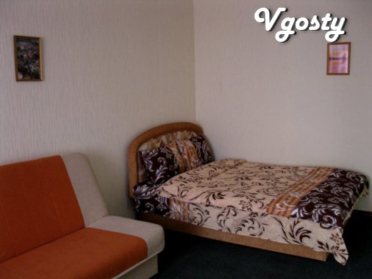 Apartment for rent, pochasosvo (Rybalko 7) District OKHMATDET - Apartments for daily rent from owners - Vgosty