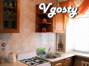 Apartment for rent in Vinnitsa, otvladeltsa - Apartments for daily rent from owners - Vgosty