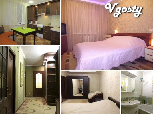 2-roomed apartment. Also hourly (in the afternoon)! VIP - Apartments for daily rent from owners - Vgosty