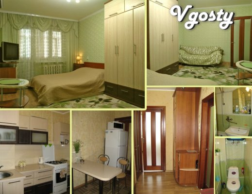 1-room. sq. m. Daily. Hourly. Suite. - Apartments for daily rent from owners - Vgosty