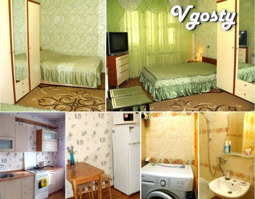 1-room. sq. m. Perhaps hourly (in the afternoon) - Apartments for daily rent from owners - Vgosty
