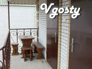 The cozy rooms of 'luxury' in the center of Berdyansk - Apartments for daily rent from owners - Vgosty