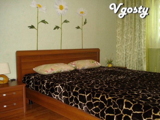 2-bedroom apartment with all amenities in the center - Apartments for daily rent from owners - Vgosty
